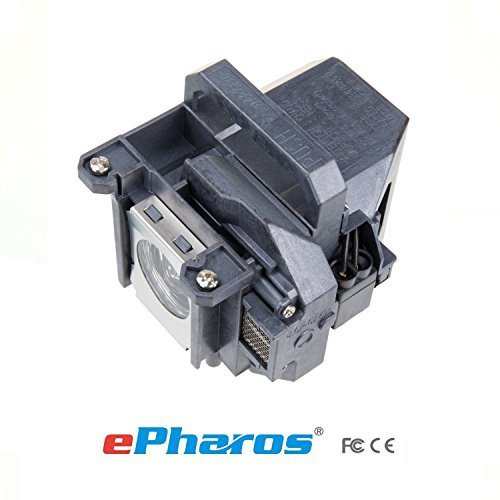 ePharos® Guaranteedd for One Year! Epson ELPLP49 , V13H010L49 Premium Replacement DLP/LCD Cinema Projector Lamp with Housing