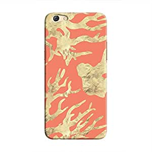 Cover It Up - Red Nature PrintF3 Hard case