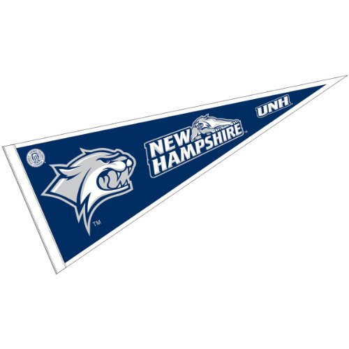 College Flags and Banners Co. University of New Hampshire Pennant Full Size Felt (Hampshire Merchandise New Of University)