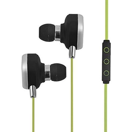 eDealMax Estéreo Aire Libre Deporte Teléfono inalámbrico en la oreja de cancelación de ruido Auricular Bluetooth