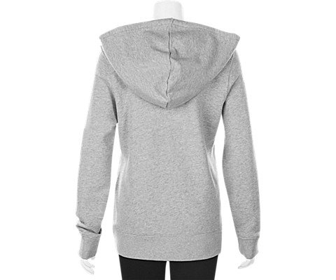 adidas Women's Trefoil Hoodie, Medium Grey Heather, S