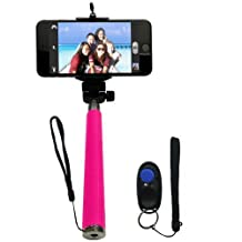 Looq System PGC-DF01 Selfie Clicker The Fourth Generation Selfie with Clicker, Black/Pink/Blue
