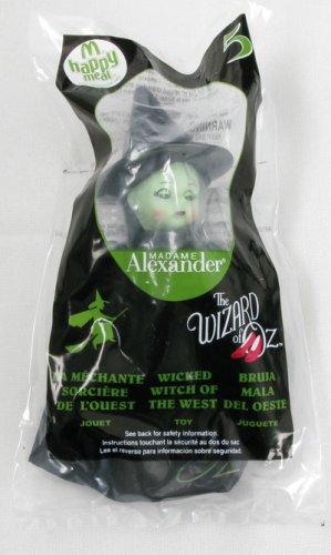 2008 Mcdonald Wizard of Oz Madame Alexander #5 Wicked Witch