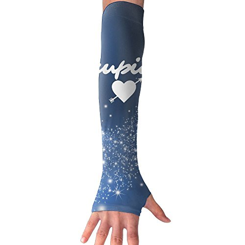 Cupid Dance Costume (Cupid 1 Pair UV Sleeves Sun Sleeves Cooling UV Protection Arm Sleeves Ability For Outdoors Sports Fit Unisex Use To Soccer Driving)