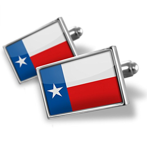 NEONBLOND Cufflinks Texas Flag region: America (USA)