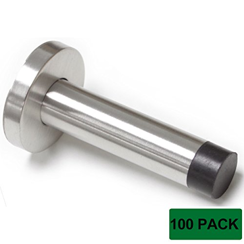 Probrico Stainless Steel 3.4 Inch Door Stopper (100Pack) by Probrico
