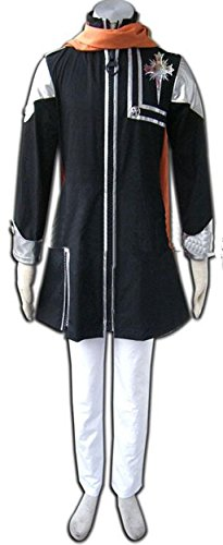 [Relaxcos D.Gray-man Lavi Cosplay Costume] (Lavi D Gray Man Cosplay Costume)