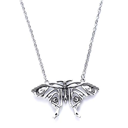 Epic Group Halloween Costumes (Blingsoul Butterfly Necklace Silver - Dragon Halloween Costumes Pendant Jewelry for)