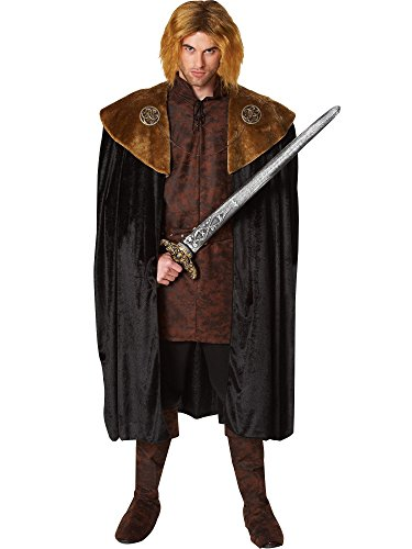Medieval King Medallion with Chain (Game Of Thrones Robb Stark Costume)