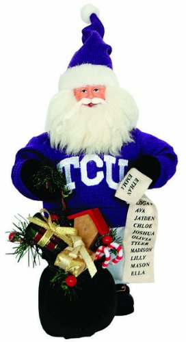 Santa's Workshop TCU034 TCU Gift Bearer Santa Figurine, 10'' ,,