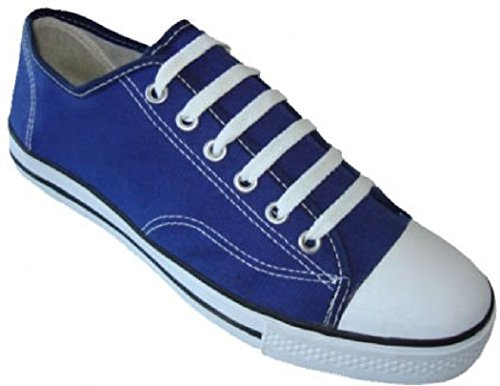 Womens Classic Canvas Shoes Sneakers 6 Colors (11, 327L Navy) -