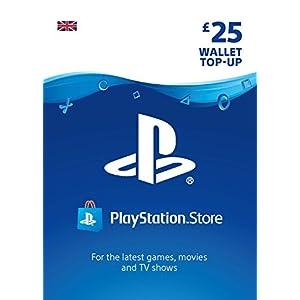 PlayStation PSN Card 25 GBP Wallet Top Up | PS5/PS4/PS3 | PSN Download Code – UK account