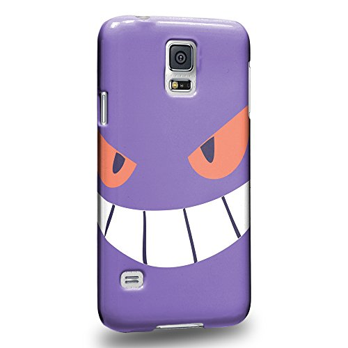 Case88 Premium Designs Pokemon Gengar Protective Snap-on Hard Back Case Cover for Samsung Galaxy S5
