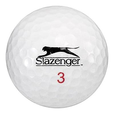 Slazenger 50 Mix - Mint (AAAAA) Grade - Recycled (Used) Golf Balls