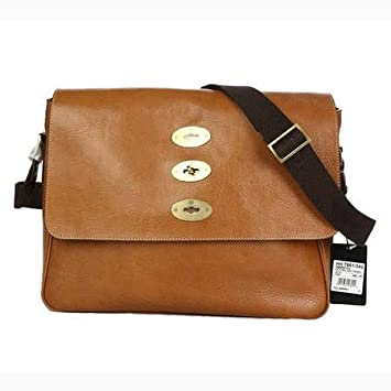 d5a9821844 Amazon.com   Mulberry Bag Brynmore Messenger Oak   Cosmetic Tote Bags    Beauty