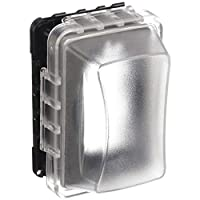 Taymac MM510C Single-Gang Horizontal/Vertical Weatherproof Receptacle Cover, 3.75 Inches Deep, Clear