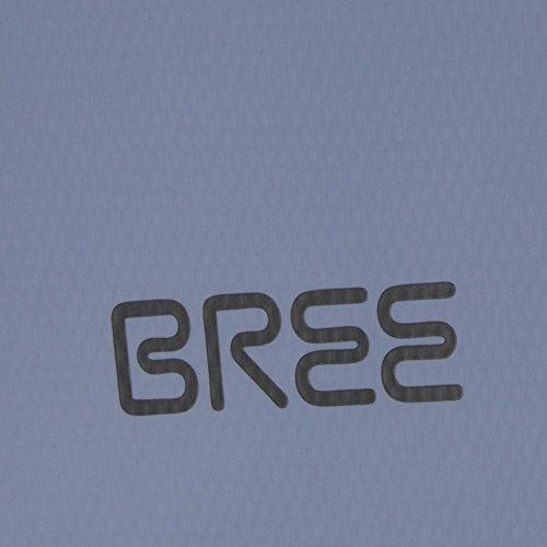 BREE - Punch 61, Skydiver, Shoulder Bag S18, Bolsos bandolera Unisex adulto, Blau (Hellblau), 6x21x26 cm (B x H T)