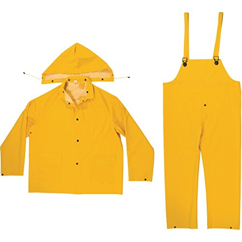 Industrial Rain Suit (35 Mil Rain Suit - 3 Pieces - Medium)