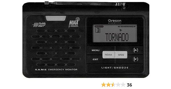Amazon Com Oregon Scientific Wr608 Desktop Noaa Noaa Weather Radios Kitchen Dining