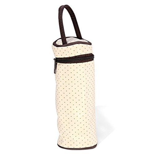 Langer Lath Bandoulière Mama Pin® Messenger Sac 5teiliges Marron Bébé Main À Ours Bag rrzYFq