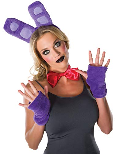 Rubie's Costume Co Men's Five Nights At Freddy's Bonnie Costume Kit, As Shown, One ()