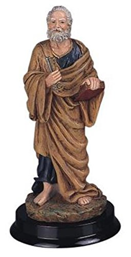 (StealStreet Saint Peter Holy Figurine Religious Statue Decor, 5