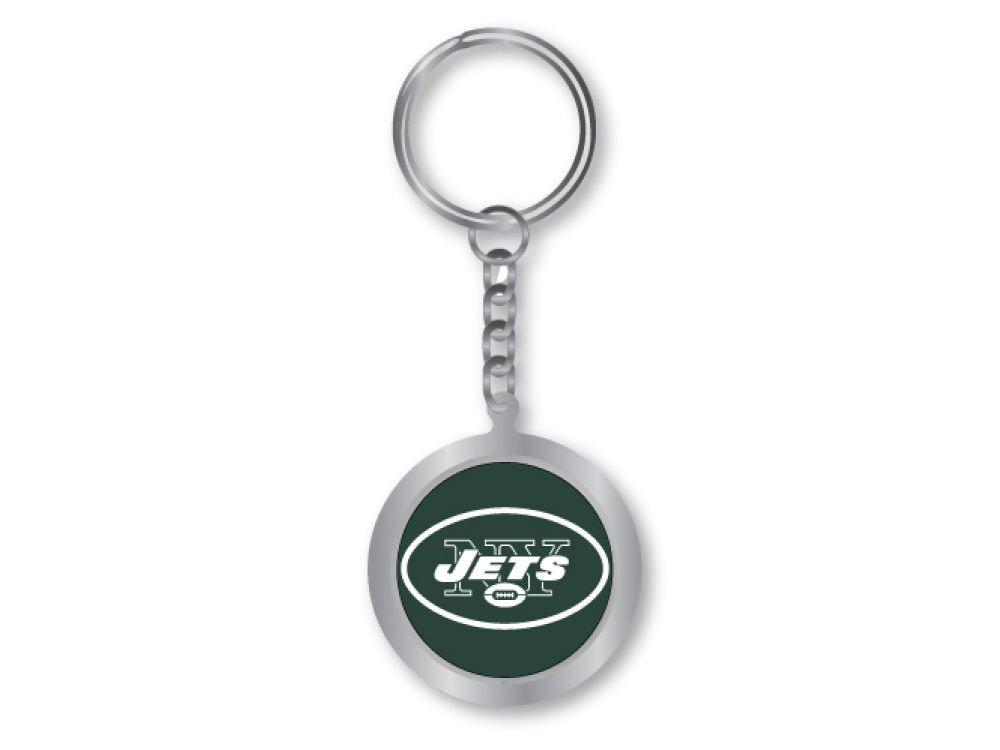 aminco New York Jets - Logo NFL Spinning Llavero: Amazon.es ...