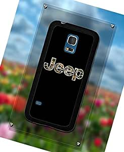 Fashionable Funda Case Compatible With Samsung Galaxy S5 Mini Jeep Logo Perfect Back Cover