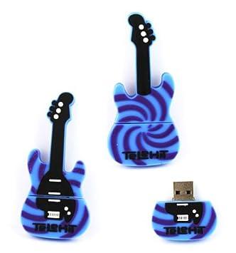 YooUSB - Memoria USB 2.0 de 4 GB, diseño de guitarra eléctrica: Amazon.es: Informática