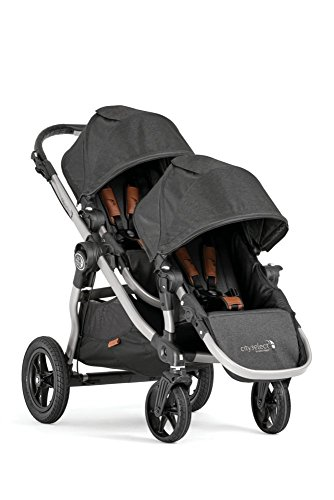 2018 Baby Jogger Anniversary Edition City Select Double Stroller W/FREE BELLY BAR by Baby Jogger