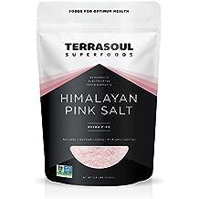 Terrasoul Superfoods Himalayan Pink Salt (Extra-Fine), 2.5 Pounds