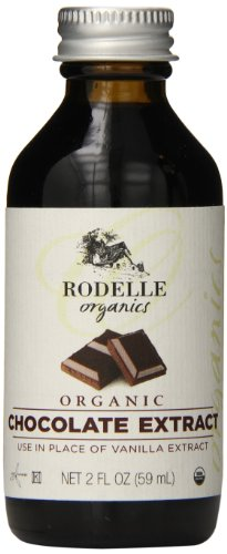 Rodelle Organics Pure Chocolate Extract, 2 Ounce (Pure Organic Chocolate)