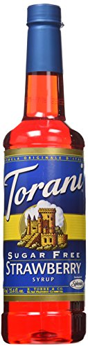 Torani® Strawberry Syrup Sugar Free (Strawberry Syrup Drink)