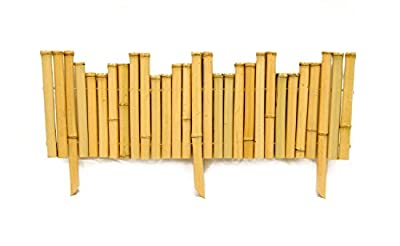 Backyard X-Scapes Bamboo Borders .875in D x 8in H x 23in L (12Pieces)