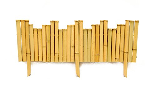 Backyard X-Scapes Bamboo Border .875in D x 8in H x 23in L (Split Bamboo Finish)