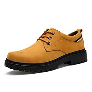 Amazon.com : Men's Leather Shoes Spring/Fall / Winter