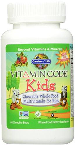 Jardin du Code vitamine Vie enfants, 60 à croquer