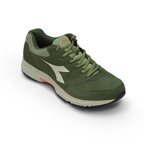 Scarpe Sneaker Uomo DIADORA Art. SHAPE 6 S Nuova Collezione ( Green Olivina Grey - 42)
