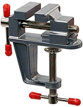 Tanjin Mini Table Clamp Small Bench Vice Jewelers Hobby Clamps Craft Repair Tool Portable Work Bench Vise [並行輸入品]