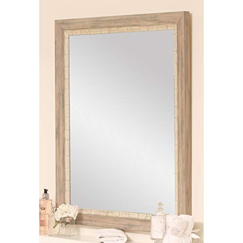 BrandtWorks BM023M2 Weathered Beach Wall Vanity Mirror, 32