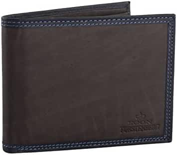 Wallet man EGON FURSTENBERG moro in leather with coin purse VA312