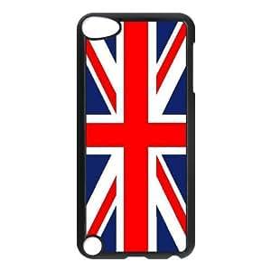 iPod Touch 5 phone case Black Union Jack Flag KKUP1751182