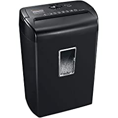 Great for Your Home Office Bonsaii DocShred C209-D Paper Shedder's simple features make it easy to use and perfect for your home office. It can shred all of your sensitive information from old tax records, bills to bank statements. C209-D can...