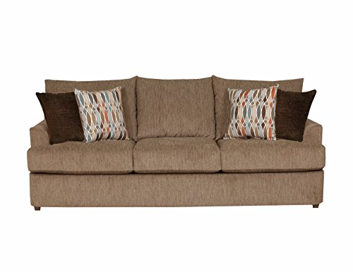 grandstand walnut sofa