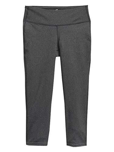 GAP Womens GapFit Legging Capris, Charcoal Grey (M)