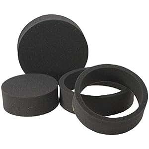 "Road Kill RKFR6 Fast Rings 6.5"" 3-Piece Foam Speaker Enhancer Kit, Black"