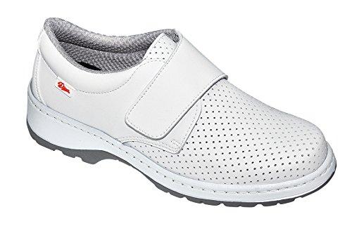Dian Milán-scl picado - Zapato de trabajo unisex-adulto blanco