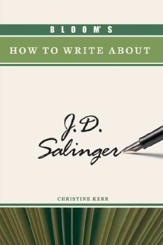 Bloom's How to Make out about J.D. Salinger