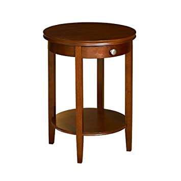 Superb Powell Shelburne Cherry Accent Table