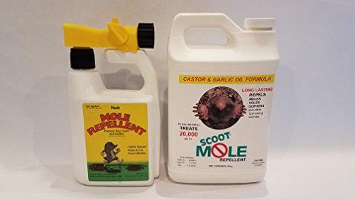 Scoot Mole Repellent Bundle (Scoot Mole Repellant)